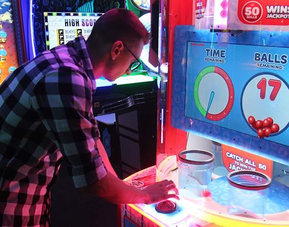Laser arcade fun and games